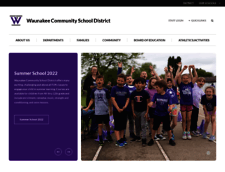 waunakee.k12.wi.us screenshot