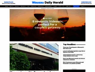 wausaudailyherald.com screenshot