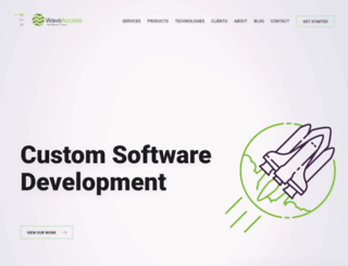 wave-access.com screenshot
