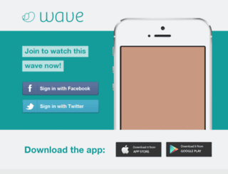 waveapp.rustybrick.net screenshot