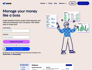 waveapps.com screenshot