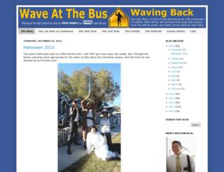 waveatthebus.blogspot.com screenshot