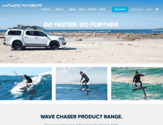 wavechaser.com.au screenshot