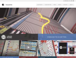 wavedna.com screenshot