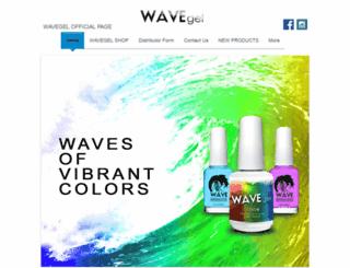 wavegelusa.com screenshot