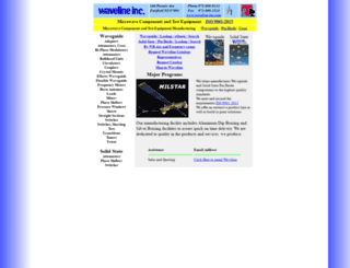 wavelineinc.com screenshot