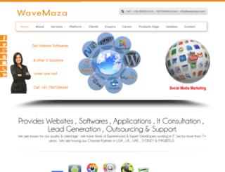 wavemaza.com screenshot