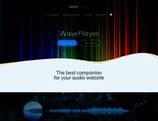 waveplayer.info screenshot