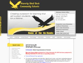 waverly-shellrock.k12.ia.us screenshot