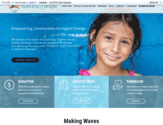 waves-of-hope.com screenshot