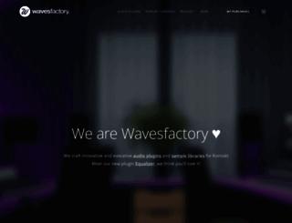 wavesfactory.com screenshot