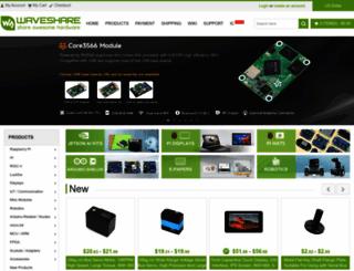 waveshare.com screenshot