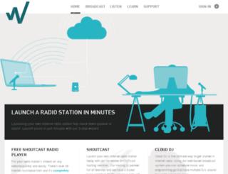 wavestreamer.com screenshot