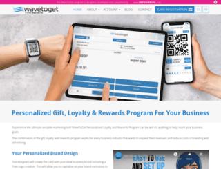 wavetoget.com screenshot