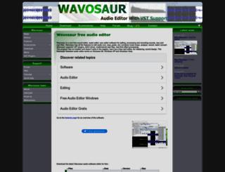wavosaur.com screenshot