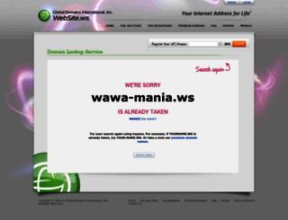 wawa-mania.ws screenshot