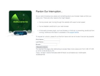 wawa.com screenshot