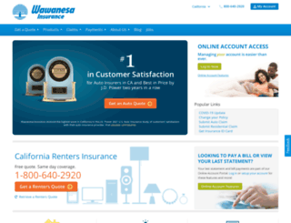 wawanesaus.com screenshot