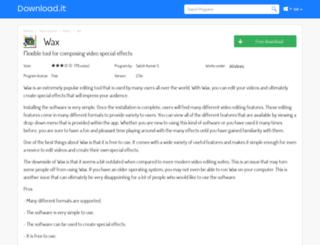 wax.jaleco.com screenshot