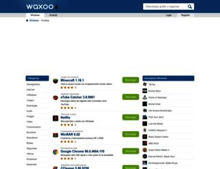 waxoo.com screenshot