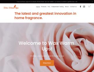 waxwarmups.com screenshot