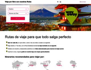 way-away.es screenshot
