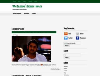 way2blogging-template.blogspot.com screenshot
