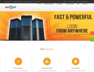 way2erp.com screenshot