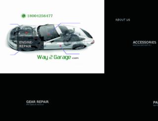 way2garage.com screenshot