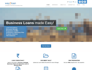 way2loan.com screenshot