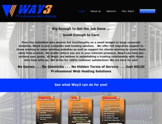 way3.com screenshot