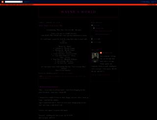 waynedastar.blogspot.de screenshot