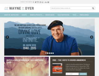 waynedyer.com screenshot