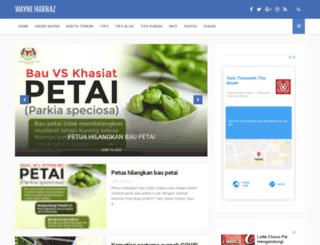 wayneharraz.com screenshot
