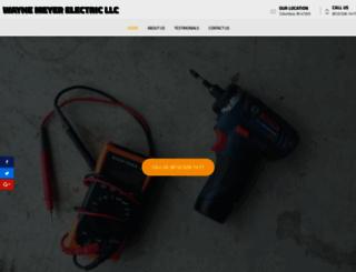 waynemeyerelectric.com screenshot