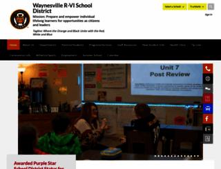 waynesville.k12.mo.us screenshot