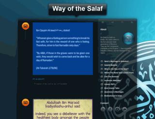 wayofthesalaf.tumblr.com screenshot