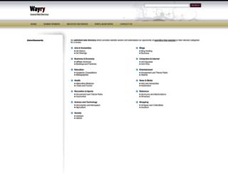 wayry.com screenshot