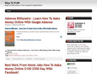 ways-2-profit.com screenshot