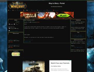waytoglory.foroactivo.net screenshot