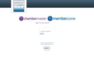 wayzatachamber.chambermaster.com screenshot