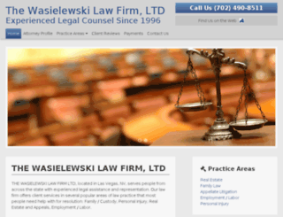 wazlaw.avvosites.com screenshot