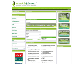wazobiajobs.com screenshot