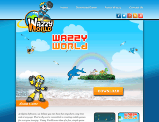 wazzyworld.com screenshot