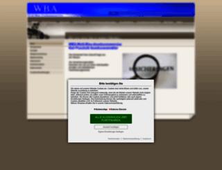 wba-assekuranzmakler.de screenshot