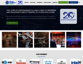 wballiance.com screenshot