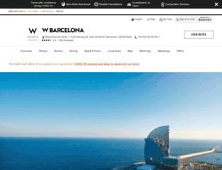 wbarcelonaview.com screenshot