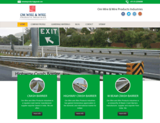 wbeamhighwaycrashbarrier.com screenshot