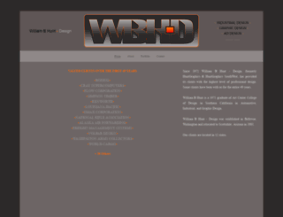 wbhuntdesign.com screenshot