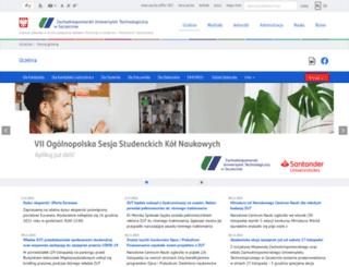wbia.zut.edu.pl screenshot